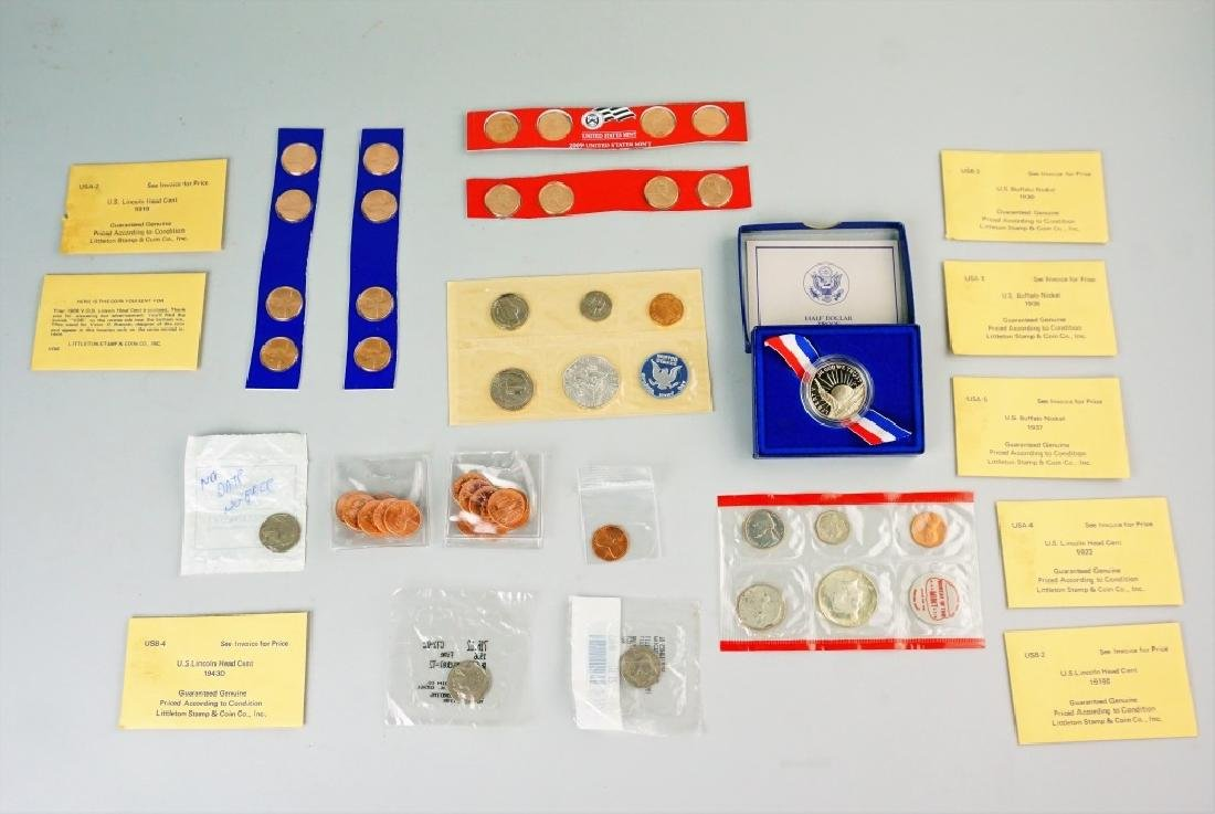 (51) ASSORTED US COINS