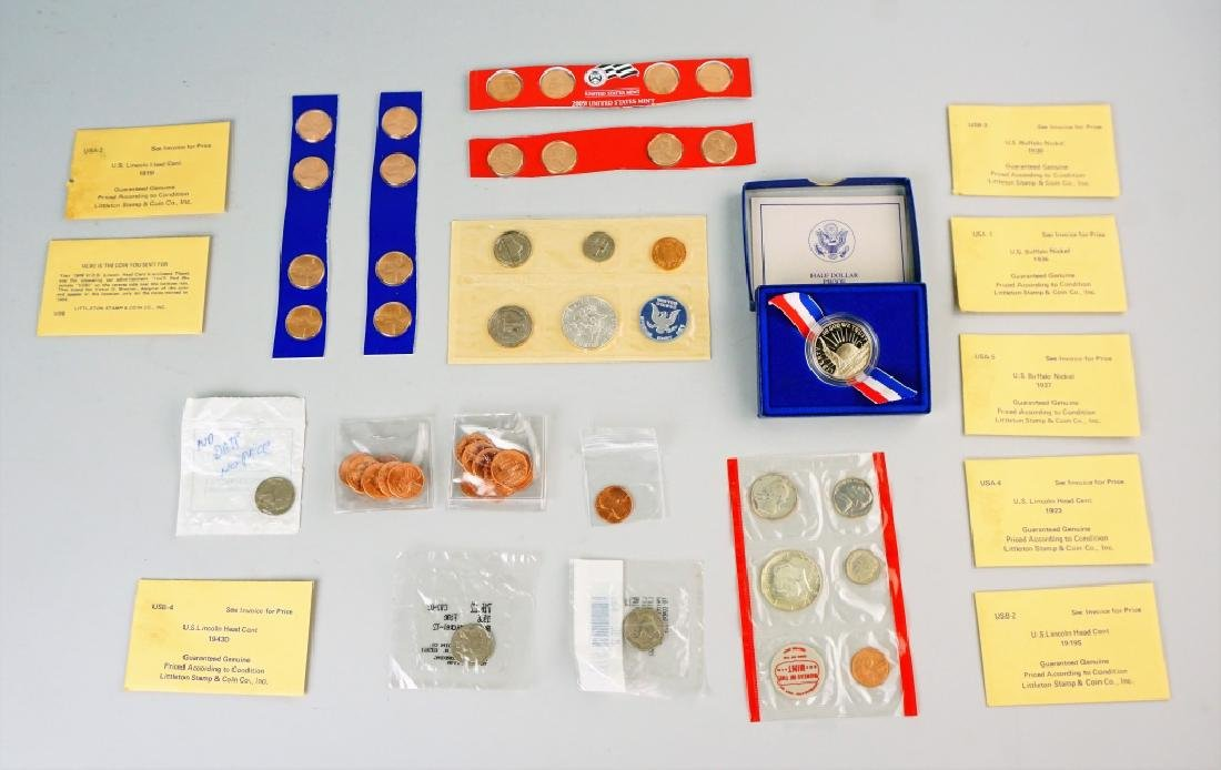 (51) ASSORTED US COINS - 2