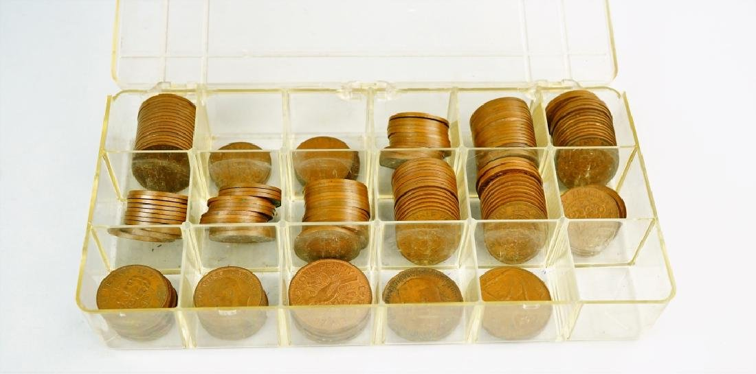 (177) ASSORTED UK NEW ZEALAND AND AUSTRALIAN COINS - 7
