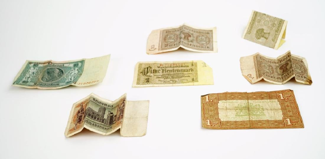 ASSORTED VINTAGE FOREGIN COINS & CURRENCY - 3