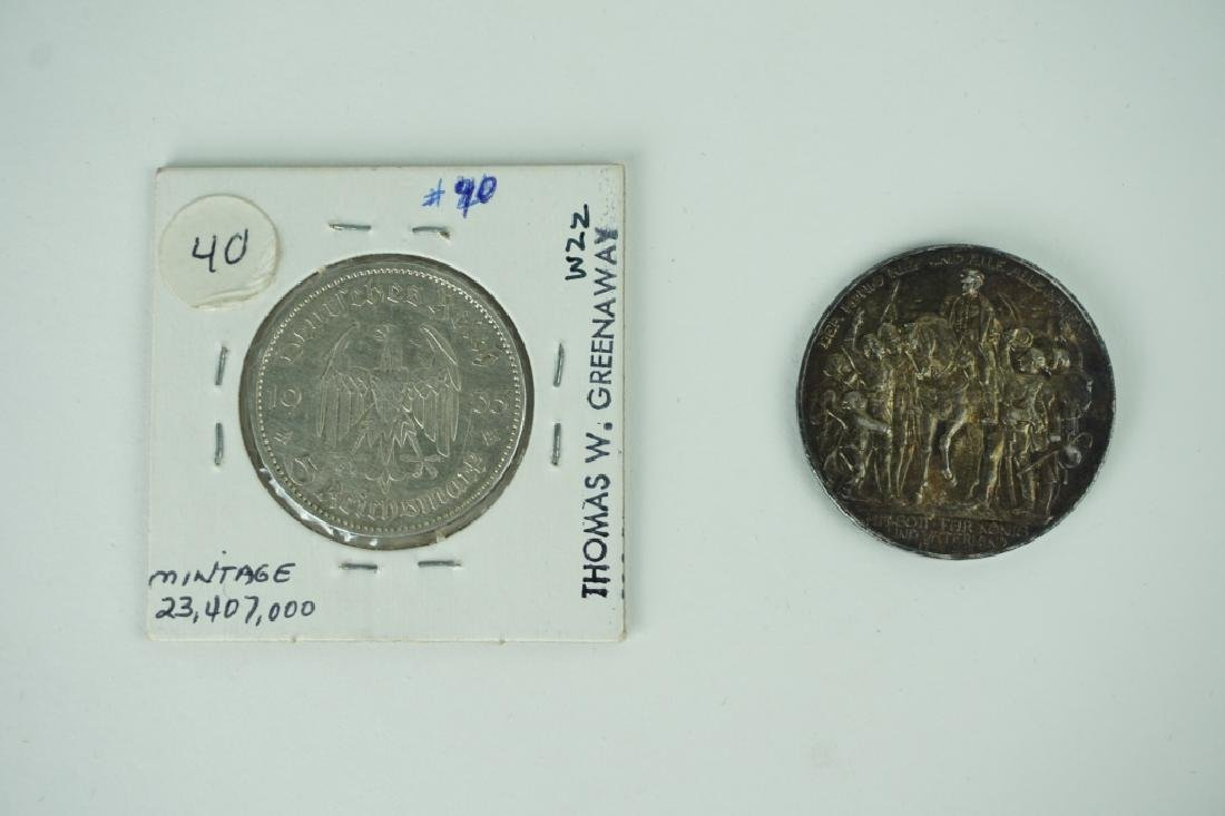 (2) GERMAN COINS