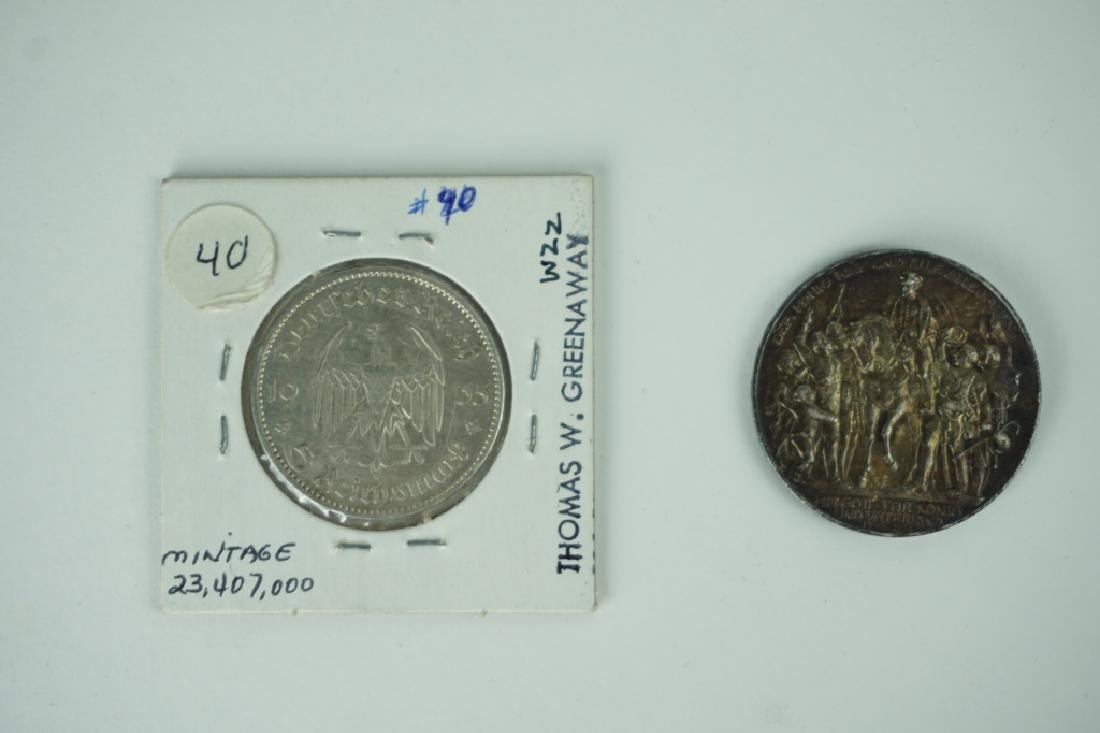 (2) GERMAN COINS - 2