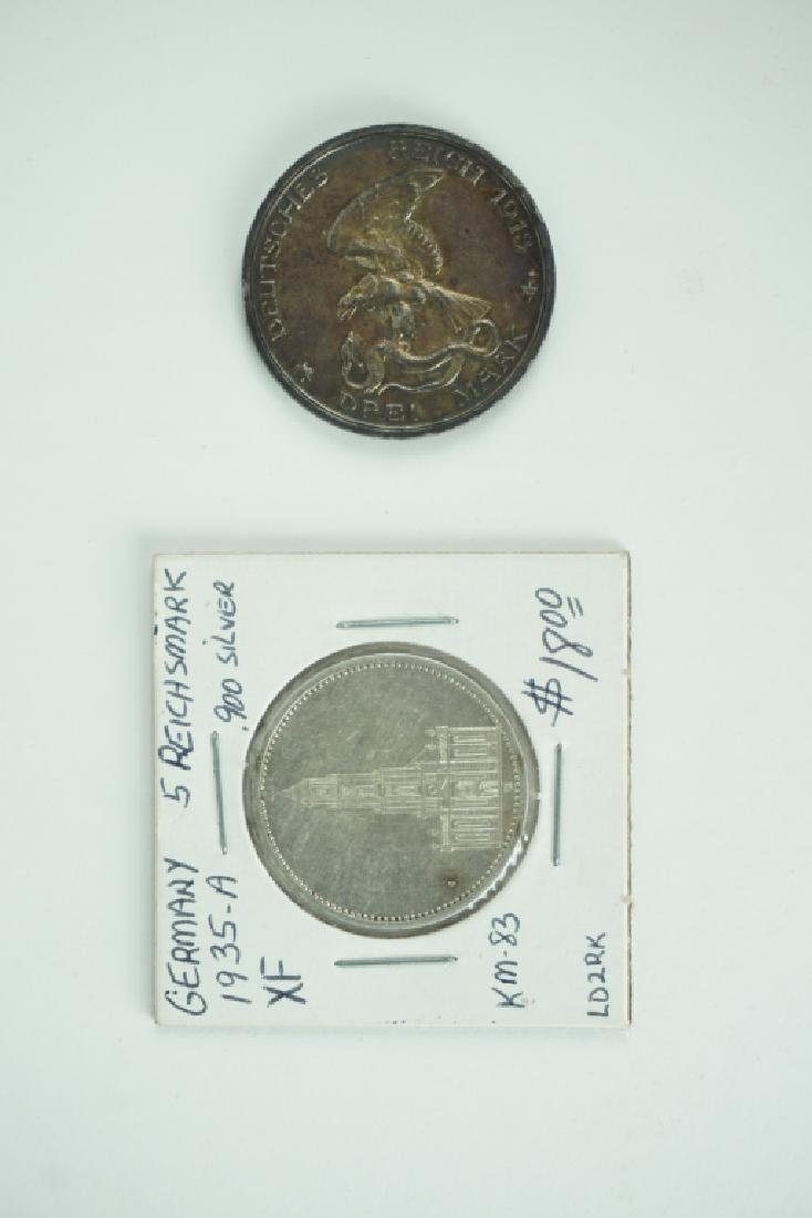 (2) GERMAN COINS - 3
