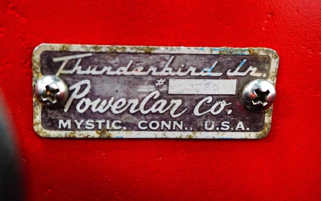 1955 THUNDERBIRD JUNIOR POWER CAR - 9