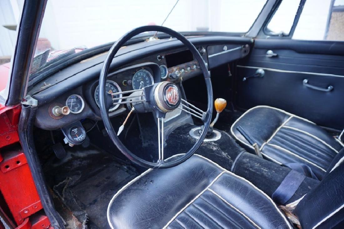 1966 MGB MK1 ROADSTER CONVERTIBLE - 10