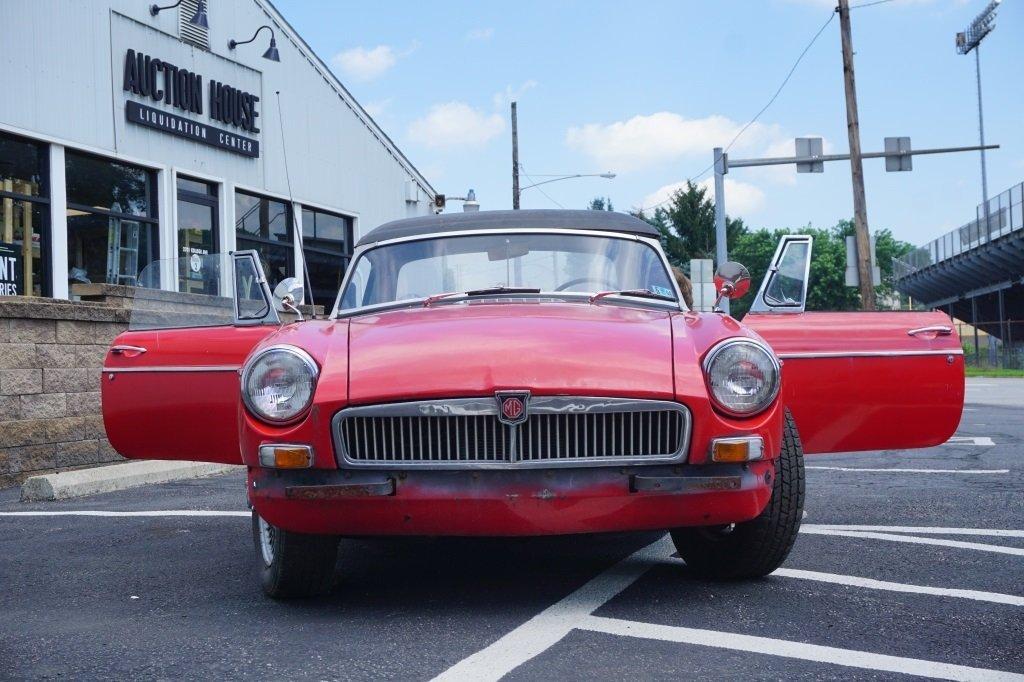 1966 MGB MK1 ROADSTER CONVERTIBLE - 2