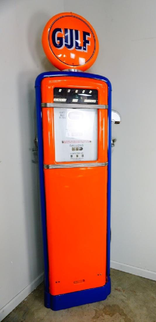 GILBORCO CALCO-METER GAS PUMP