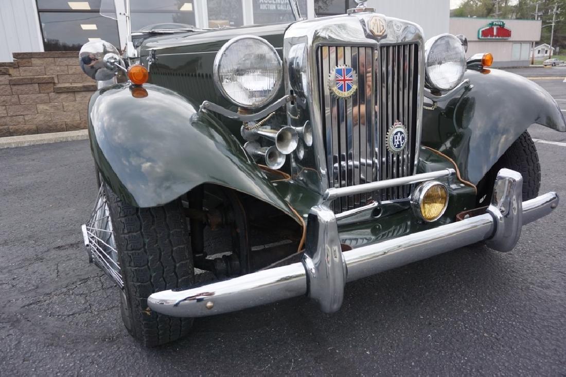 1952 MG TD REPLICA CAR MODEL CONVERTIBLE - 3