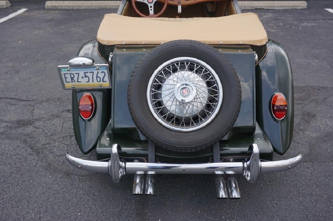 1952 MG TD REPLICA CAR MODEL CONVERTIBLE - 4
