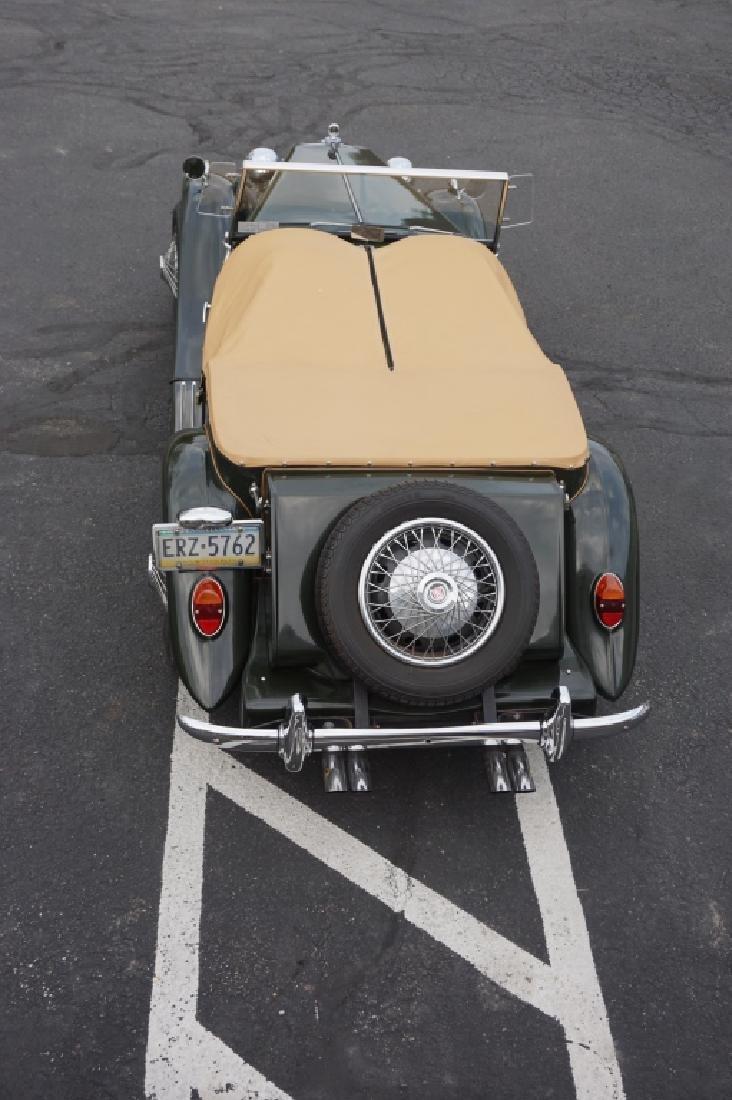 1952 MG TD REPLICA CAR MODEL CONVERTIBLE - 5