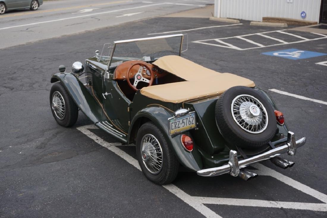1952 MG TD REPLICA CAR MODEL CONVERTIBLE - 6