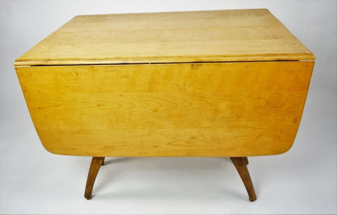 HEYWOOD WAKEFIELD DROPLEAF EXTENSION TABLE