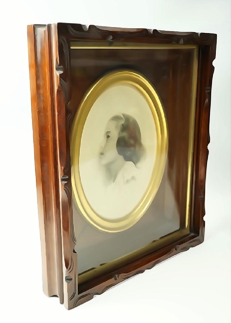 PAIR OF VICTORIAN SHADOW BOX FRAMES - 4