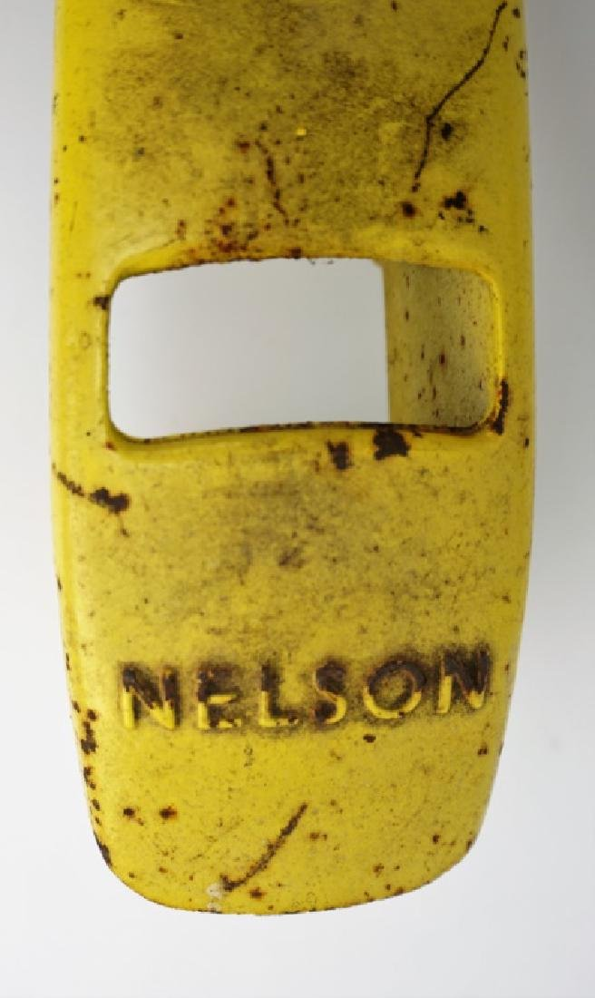 VINTAGE NELSON CAST IRON TRACTOR SPRINKLER - 3