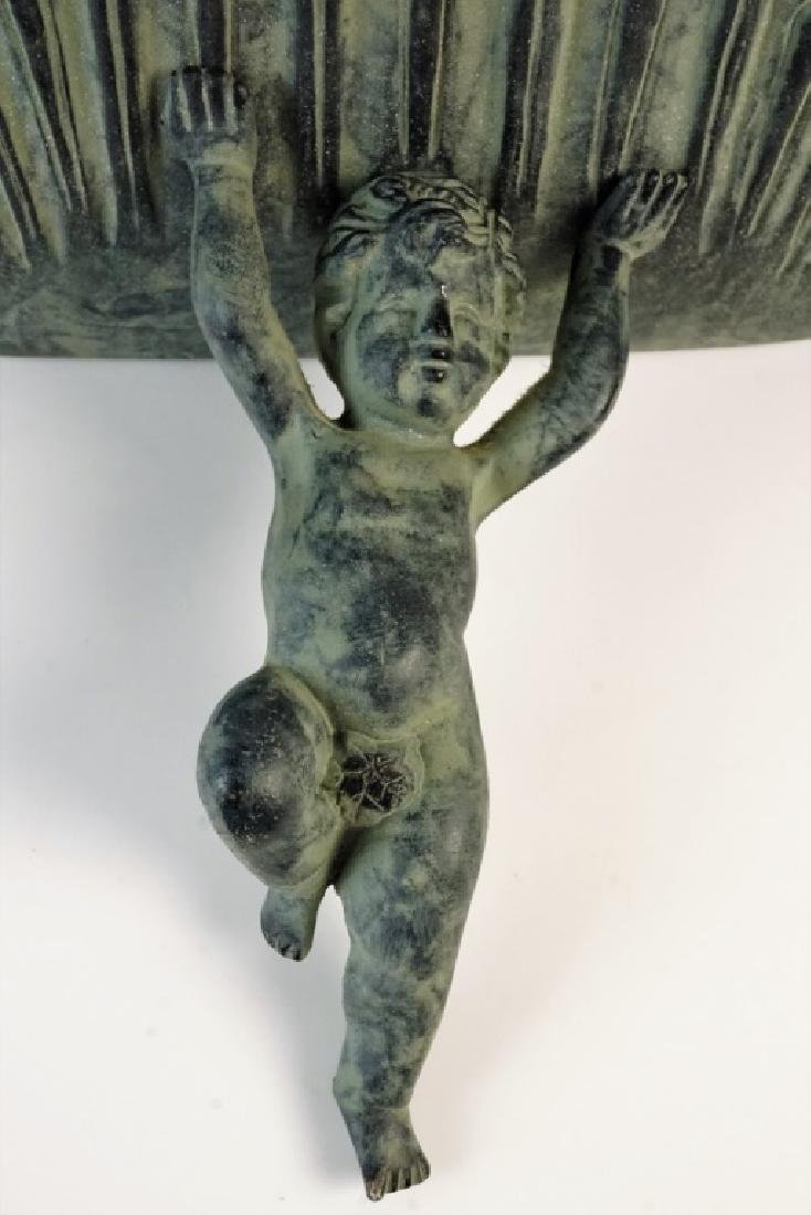 COMPOSITE CHERUB WALL SHELF - 2