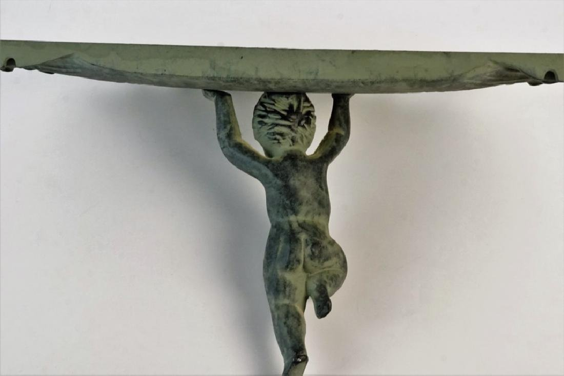 COMPOSITE CHERUB WALL SHELF - 6