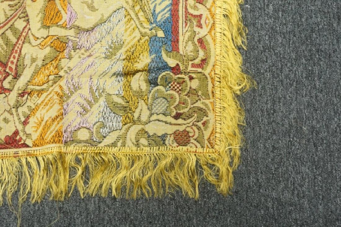(2) EMBRORDERED SHAWLS WITH SILK FRINGE - 6