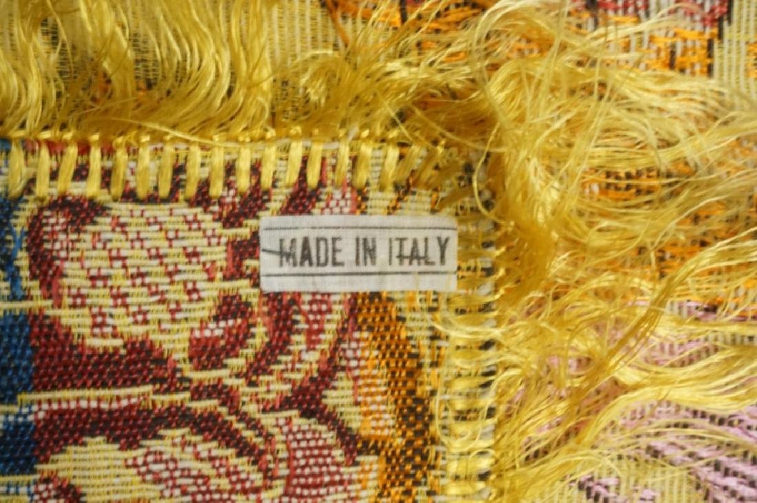 (2) EMBRORDERED SHAWLS WITH SILK FRINGE - 8