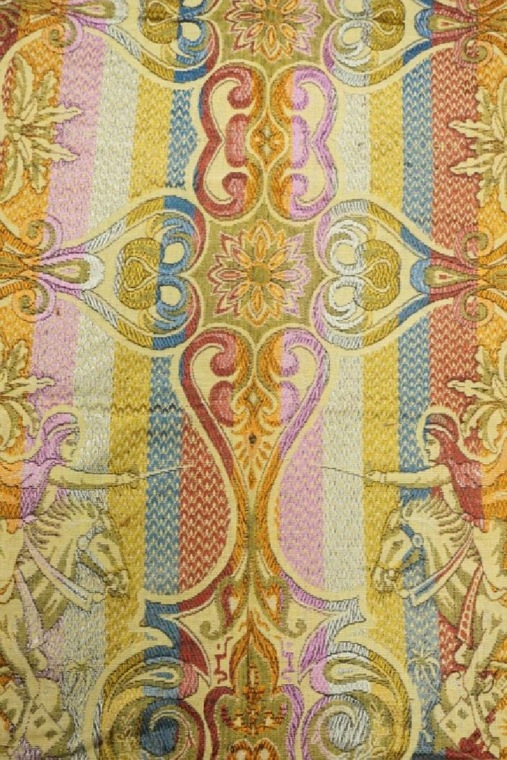 (2) EMBRORDERED SHAWLS WITH SILK FRINGE - 9