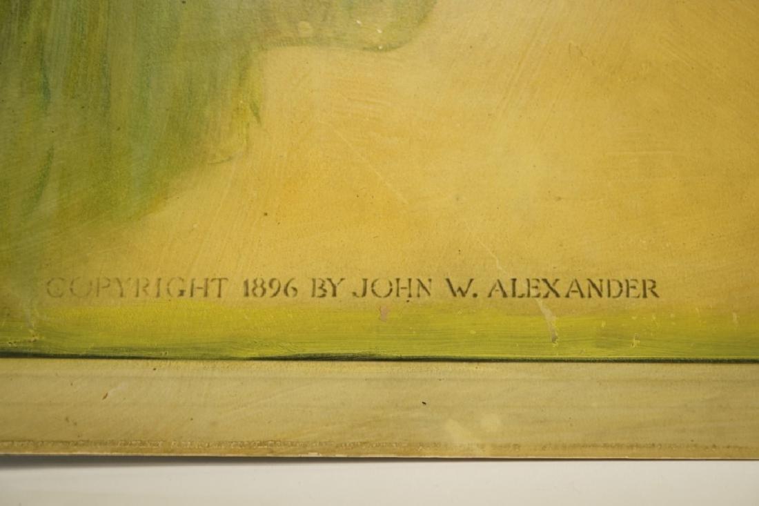(4) JOHN W ALEXANDER (USA, 1856-1915) EMERY PRINTS - 5