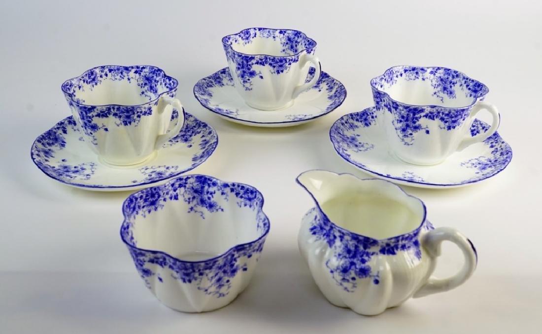 SHELLEY BONE CHINA TEA SET