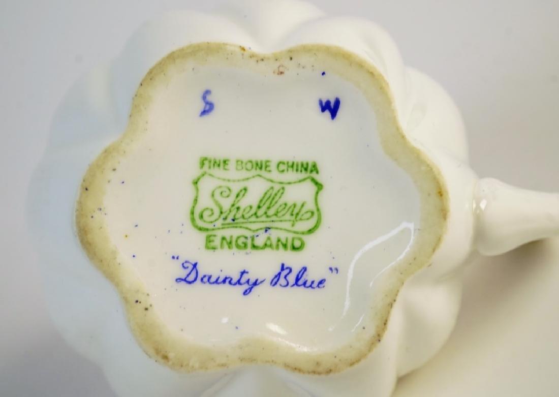 SHELLEY BONE CHINA TEA SET - 3