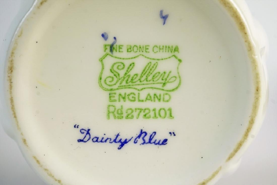 SHELLEY BONE CHINA TEA SET - 5
