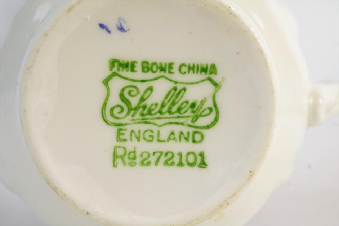 SHELLEY BONE CHINA TEA SET - 7