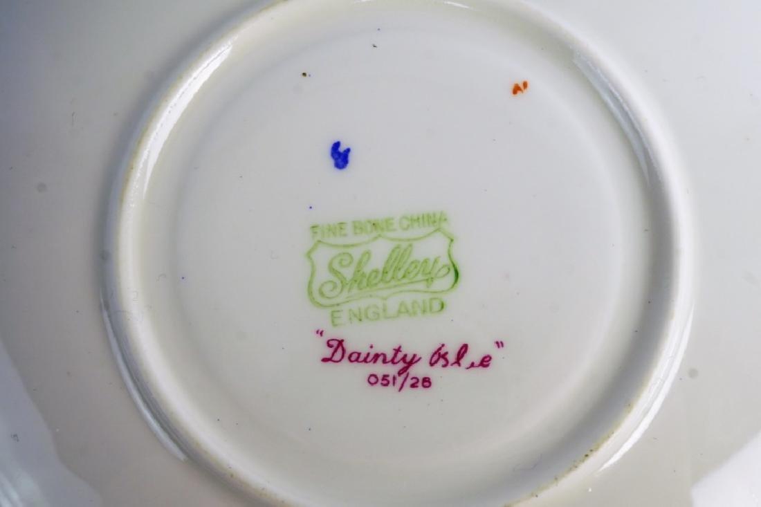 SHELLEY BONE CHINA TEA SET - 9