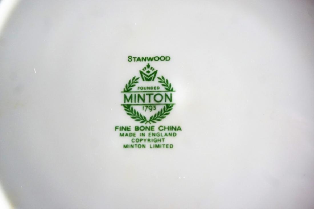 75pc MINTON STANDWOOD 5pc SERVICE FOR 12 PLUS - 4