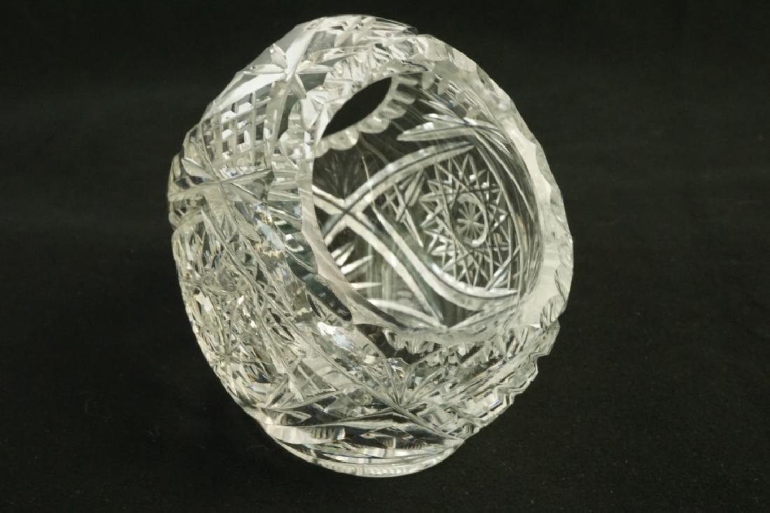 4pcs CUT GLASS - 5