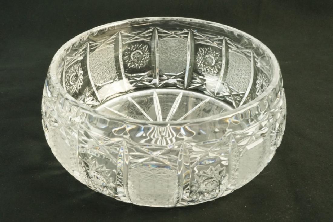 4pcs CUT GLASS - 6