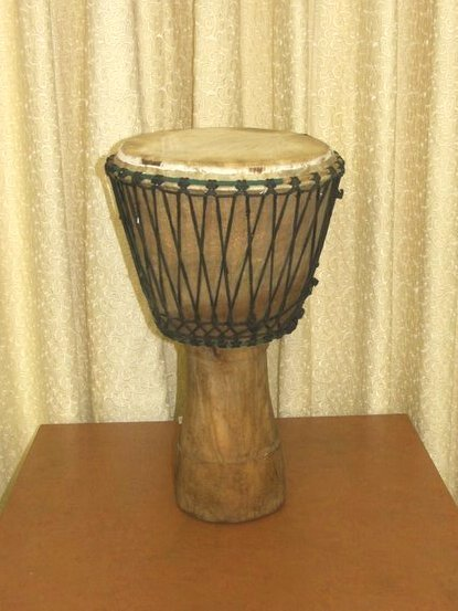 31: West Africa Djembe Drum Cape Town
