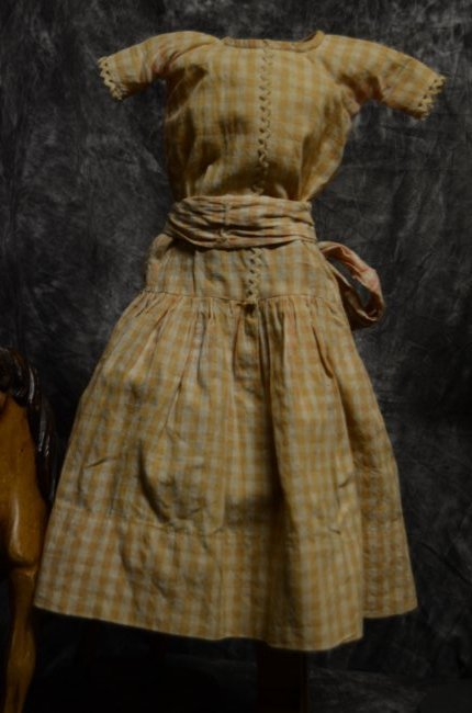 ANTIQUE VINTAGE BISQUE GERMAN FRENCH DOLL CLOTHING 3/20