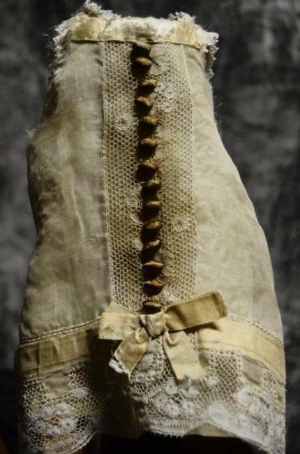 ANTIQUE VINTAGE BISQUE GERMAN FRENCH DOLL CLOTHING 5/20