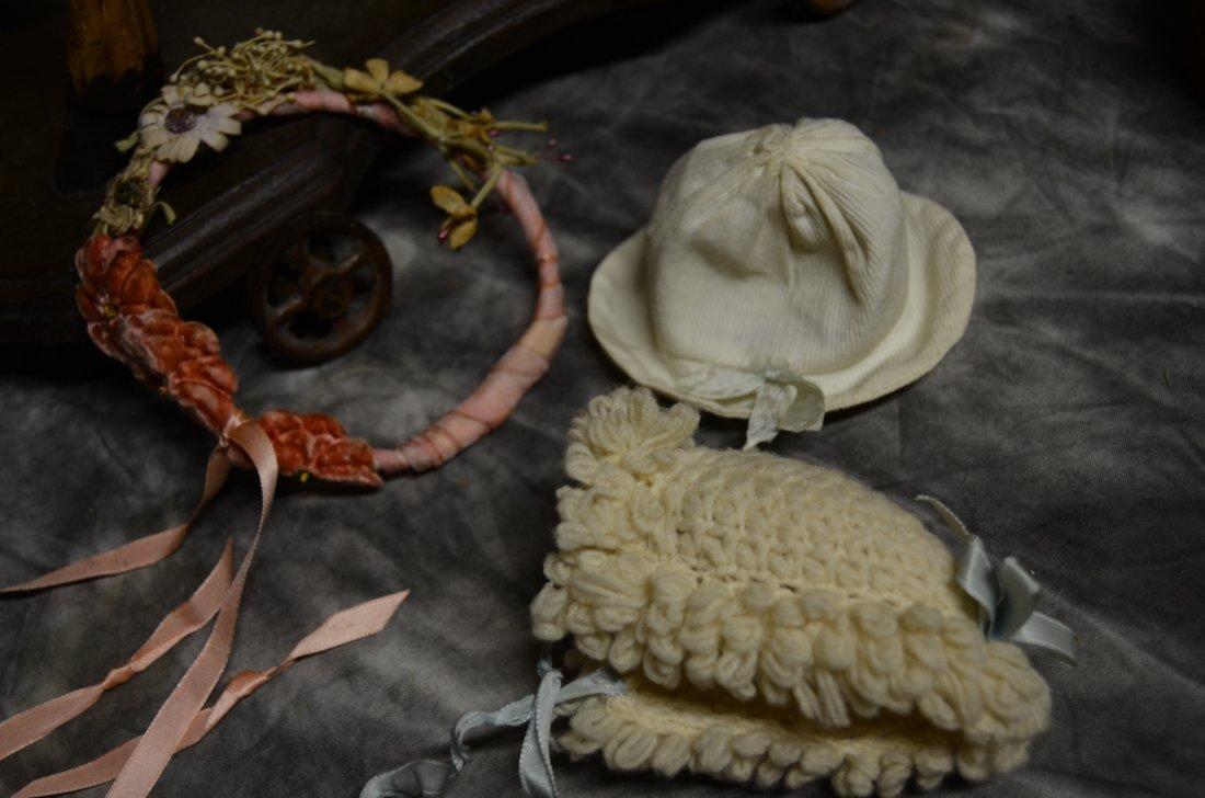 ANTIQUE VINTAGE BISQUE GERMAN FRENCH DOLL CLOTHING 7/20
