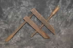 ANTIQUE WOODEN CLAMP