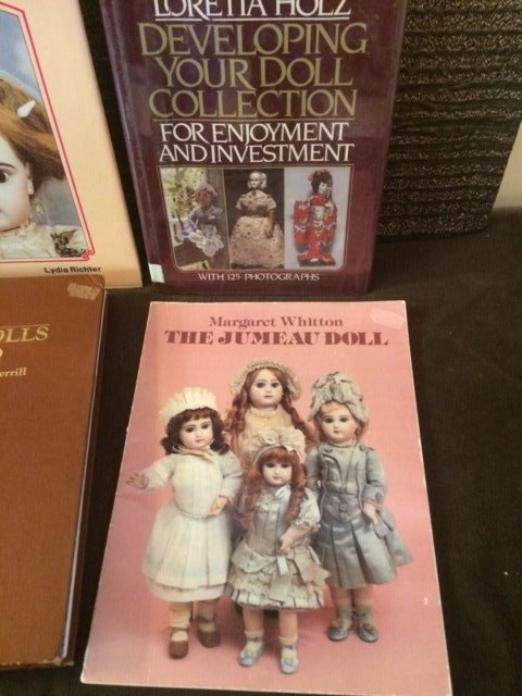 LOT OF 6 COLLECTIBLE DOLL BOOKS - 5