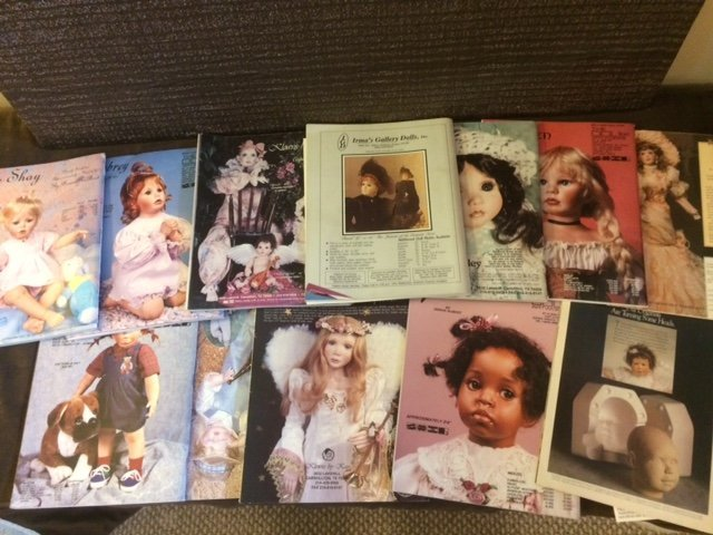 LOT OF 12 DOLL MAGAZINES - 2