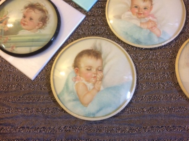 LOT OF 8 EXQUISITE BABY PRINTS ~ SIGNED ~ - 2