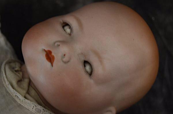 """CUDDLY 14"""" ANTIQUE BISQUE HEAD ~AM~DREAM BABY~ - 2"""