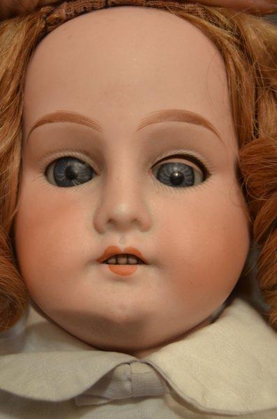 ANTIQUE BISQUE SHOULDER HEAD ~ MABEL ~ ORIGINAL BODY - 2