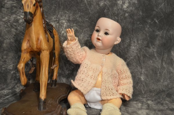 "16 1/2"" DARLING GERMAN CHARACTER BABY ~ 990 ~"