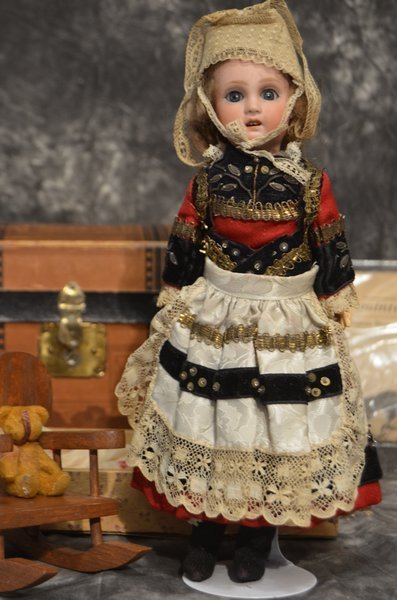 AMAZING ANTIQUE FRENCH BISQUE BEBE ~ JUMEAU ~ 1907 ~