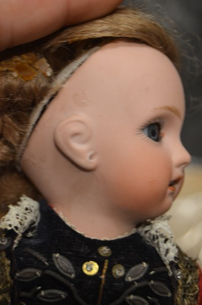 AMAZING ANTIQUE FRENCH BISQUE BEBE ~ JUMEAU ~ 1907 ~ - 5