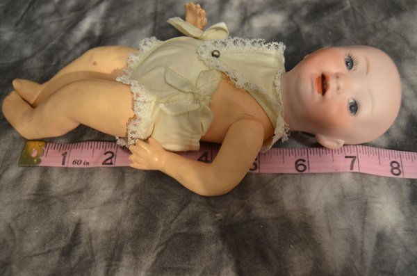 """8"""" GERMAN ANTIQUE BABY DOLL - 4"""