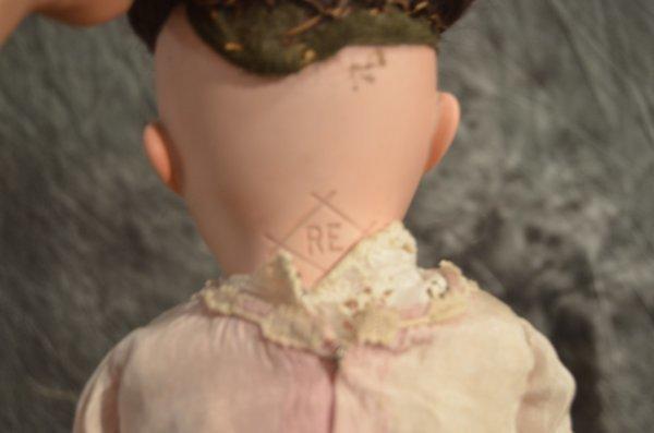 "20"" ANTIQUE ~ NIPPON ~ BISQUE SHOULDERHEAD - 3"