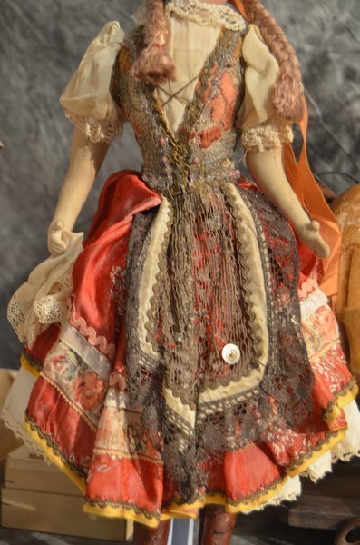 ANTIQUE AM ~ ALMA ~ ORIGINAL ETHNIC COSTUME