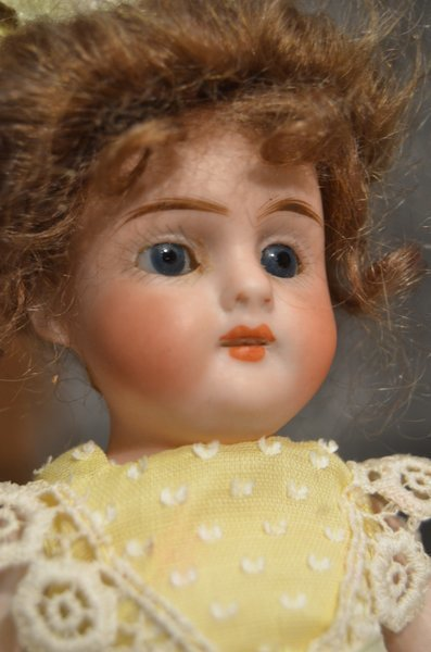 DELIGHTFUL ALL BISQUE ANTIQUE DOLL - 2