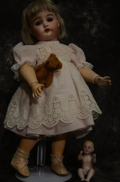 ANTIQUE GERMAN BISQUE HEAD DOLL ~ 191 ~